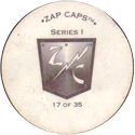 Zap Caps > Series 1 Back.