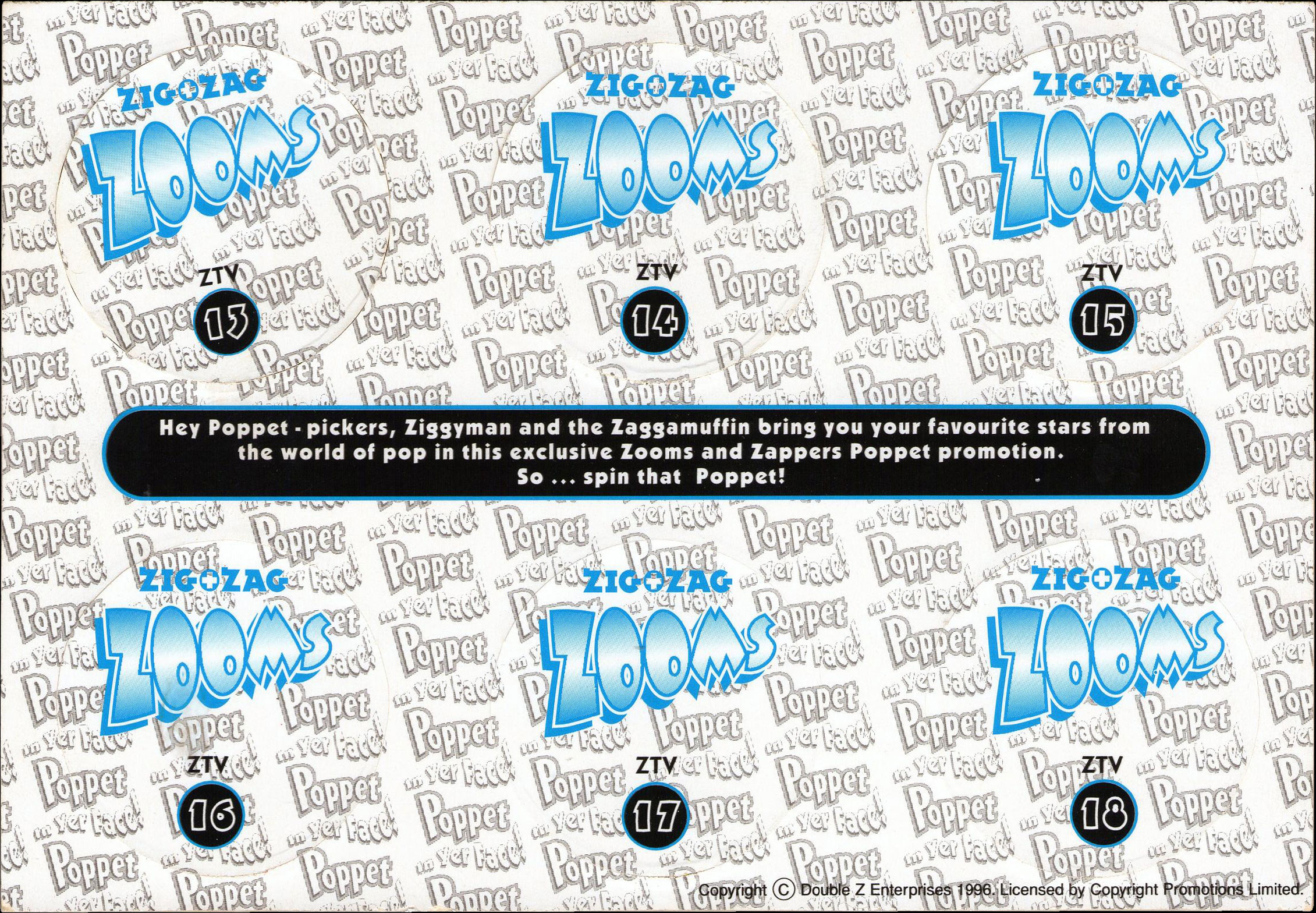 Zig Zag Zooms ZTV Music Poppetvision Back