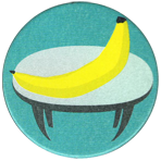 Zigs 046-Banana-top-table.