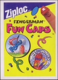 ZipLoc Fingerman Fun Caps Checklist Checklist-Front.