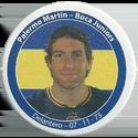 Panini Caps > Apertura 2006 025q-Palermo-Martín---Boca-Juniors.