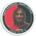 Panini Caps > Apertura 2006 117q-Zapata-Ariel-Hernán---Newell's-Old-Boys.