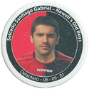 Panini Caps > Apertura 2006 118q-Salcedo-Santiago-Gabriel---Newell's-Old-Boys.