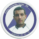 Panini Caps > Apertura 2006 124-Crosa-Fernando-Javier---Quilmes.