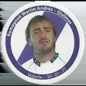 Panini Caps > Apertura 2006 125-Romagnoli-Martin-Andrés---Quilmes.
