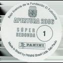 Panini Caps > Apertura 2006 Back.