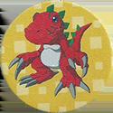 Panini Caps > Digimon 53-Tyrannomon.