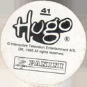 Panini Caps > Hugo Back.