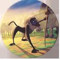 Panini Caps > Lion King 03-Rafiki.