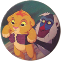 Panini Caps > Lion King 05-Rafiki-holding-young-Simba.