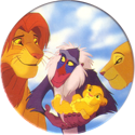 Panini Caps > Lion King 36-Simba,-Nala,-Rafiki,-and-baby.