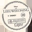 Panini Caps > Lion King Back-(Dutch).