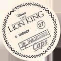 Panini Caps > Lion King Back-(English).