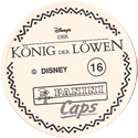 Panini Caps > Lion King Back-(German).