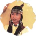 Panini Caps > Power Rangers Flying Caps 012-Trini-wearing-Native-American-clothes.