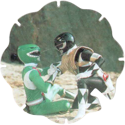 Panini Caps > Power Rangers Flying Caps 062-Green-and-Black-Rangers.
