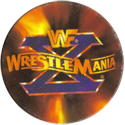 Panini Caps > World Wrestling Federation (WWF) 42-WWF-WrestleMania-X.