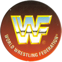 Panini Caps > World Wrestling Federation (WWF) 50-WWF-World-Wrestling-Federation-logo.