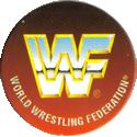 Panini Caps > World Wrestling Federation (WWF) 50-WWF-World-Wrestling-Federation-logo.
