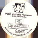 Panini Caps > World Wrestling Federation (WWF) Back.