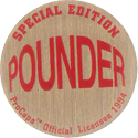 Pro Caps > Pounders Hang-Ten-Beige-Red-(back).