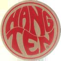 Pro Caps > Pounders Hang-Ten-Beige-Red.