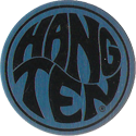 Pro Caps > Pounders Hang-Ten-Blue-Black.