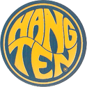 Pro Caps > Pounders Hang-Ten-Blue-Yellow.