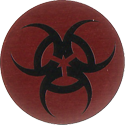 Pro Caps > Pounders Not-Biohazard-Red-Black.