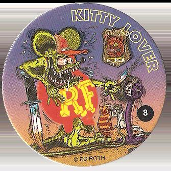 2005 Big Daddy Roth Rat Fink Hot Rod bank Funko Metalic Purple NEW IN BOX!