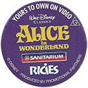 Sanitarium > Disney Classics 16-Alice-in-Wonderland-(back).