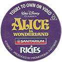 Sanitarium > Disney Classics 21-Alice-in-Wonderland-(back).