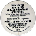 Slug > Series 2 Slammer Stickers Back.