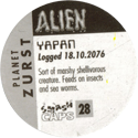 Smash Caps > Alien 28-Yapan-(back).