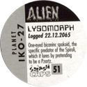 Smash Caps > Alien 51-Lysomorph-(back).