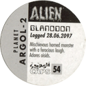Smash Caps > Alien 54-Glanodon-(back).