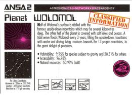 Smash Caps > Alien Checklists Planet-Wolomol.