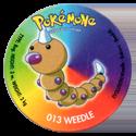 Taso > Taso 4 Pokémone 013-Weedle.