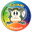 Taso > Taso 4 Pokémone 020-Raticate.