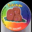 Taso > Taso 4 Pokémone 051-Dugtrio.