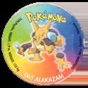 Taso > Taso 4 Pokémone 065-Alakazam.