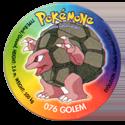 Taso > Taso 4 Pokémone 076-Golem.