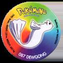 Taso > Taso 4 Pokémone 087-Dewgong.
