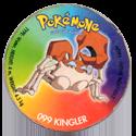 Taso > Taso 4 Pokémone 099-Kingler.
