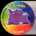 Taso > Taso 4 Pokémone 132-Ditto.
