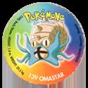 Taso > Taso 4 Pokémone 139-Omastar.