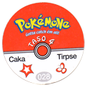 Taso > Taso 4 Pokémone Back.