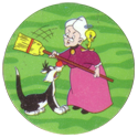 Tazos > Series 1 > 001-040 Looney Tunes 39-Sylvester.