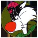Tazos > Series 1 > 101-140 Looney Tunes Techno 128-Sylvester.