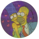 Tazos > Series 1 > 141-180 The Simpsons Magic Motion 144-Homer-&-Marge.